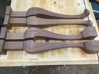 shaping furniture parts legs
