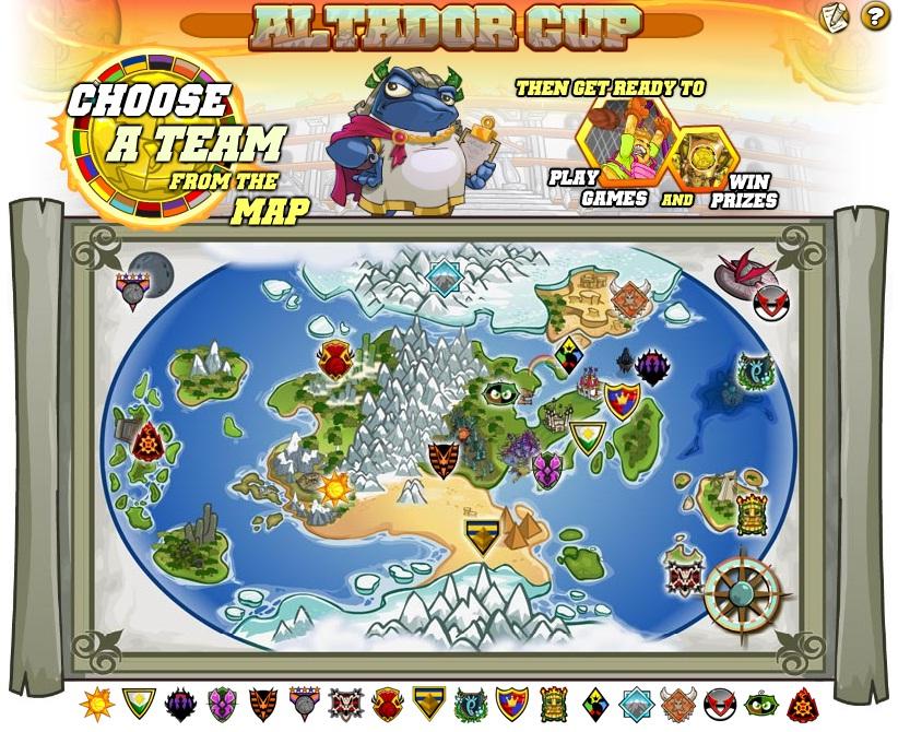 Altador cup v prizes for kids