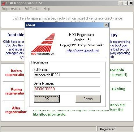 hdd regenerator 2011 registration key