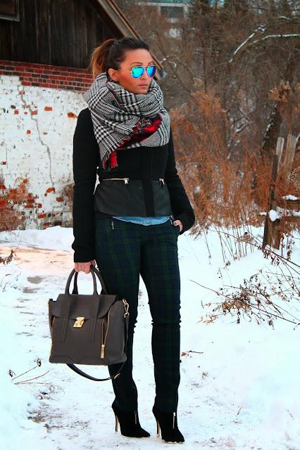 #tartan #pants #tartanpants #plaid #plaidpants #plaidtrend #tartantrend #smartset #smartsetpants #smartsettartanpants #smartsetplaidpants #zara #zarajacket #zarascarf #zaratwofacescarf #zaratartanscarf #zaraplaidscarf #oversizedscarf #aldo #aldoboots #aldobooties #aldoheels #ankleboots #gap #gapsweater #gapnavysweater #woolsweater #layering #layeringlook #hm #h&m #h&Mchambrayshirt #chambray #chambrayshirt #streetstyle #torontostreetstyle #canadianstreetstyle #canadianfashion #serbianfashion #srpskamoda #srpskistil #canadianstyle #fashionblogger #fblogger #canadianblogger #serbianblogger #ukblogger #srpskablogerka #srpskeblogerke #toronto #torontofashion #beograd #serbia #srbija