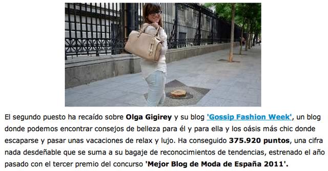 el economista olga gigirey gossipsfashionweek gossip fashion week