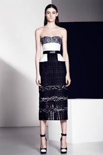 2013 Gece Elbisesi Şık Tasarımlar Prabal Gurung Koleksiyonu