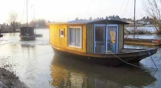 dormir dans un bateau