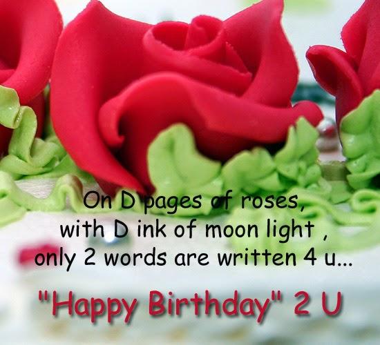 Birthday Wishes Roses