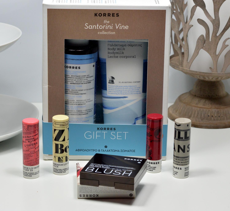 Korres Lip Butter Gift Set Blush 22