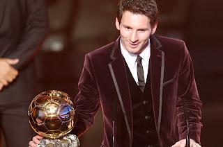 Lionel Messi fue el ganador del Balón de Oro 2011