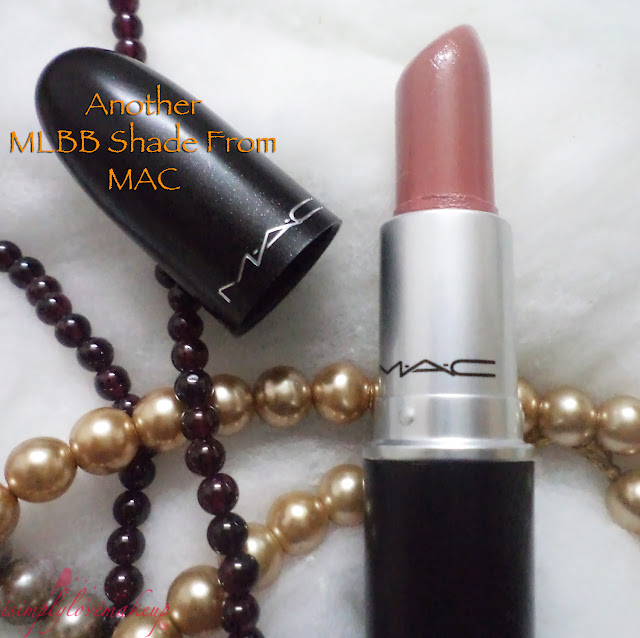 Review MAC Modesty Lipstick
