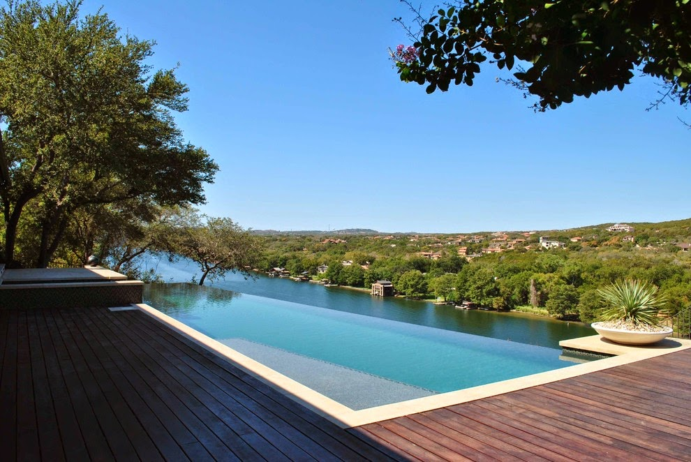 Home design ideas 20 great inspiration infinity pool for Pool design by poolside