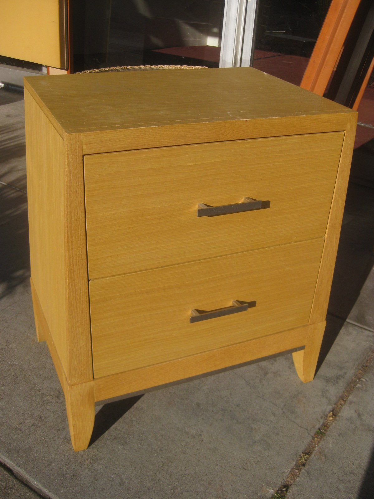 sold pier 1 dresser and night stand 135
