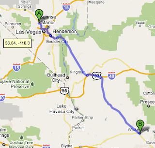 ONE MORE MILE BLOG Dotcom ROAD TRIP  Las Vegas NV To