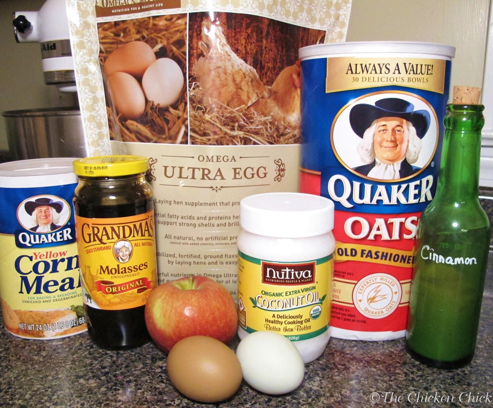 the chicken flock block substitute recipe healthy boredom