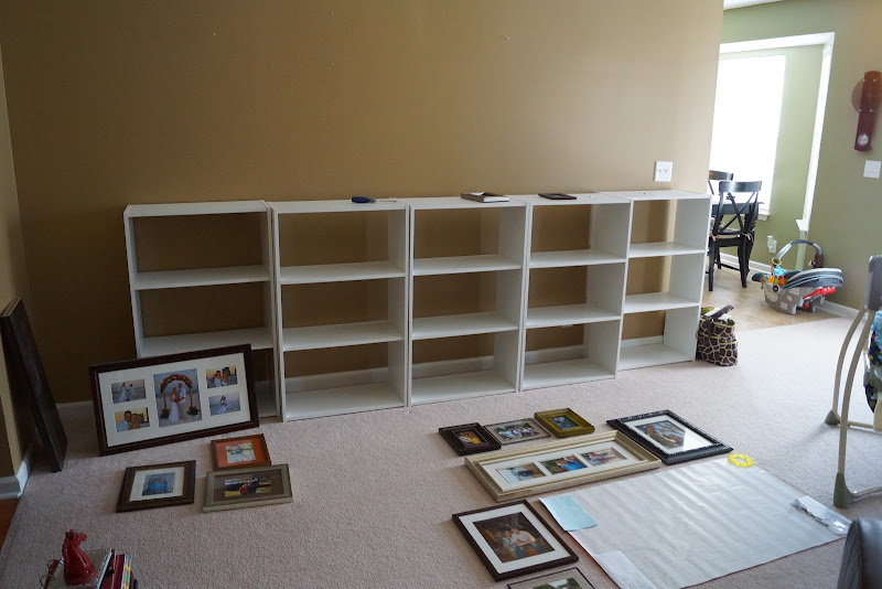 DIY Wall Units Living Room