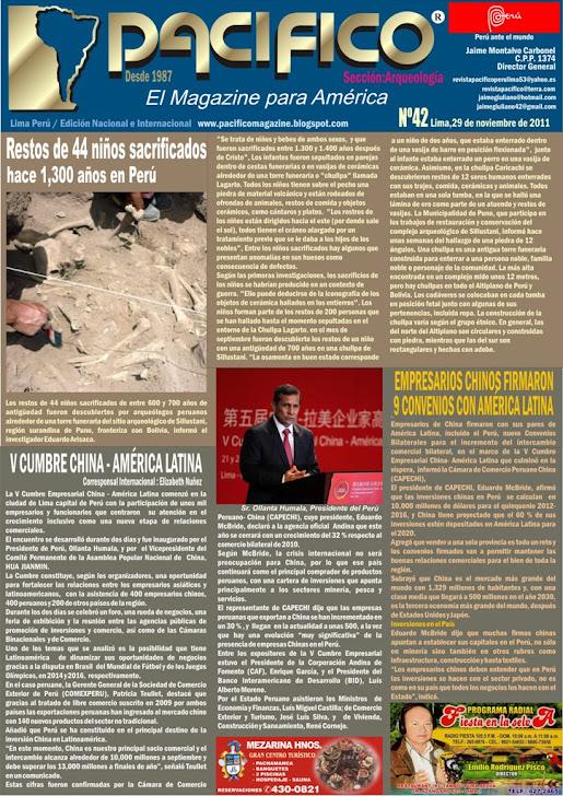 Revista Pacífico Nº 42 Arqueología