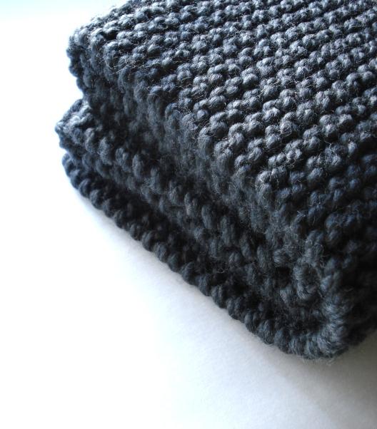 Knitting Garter Stitch Scarf : Jennifer and ed s knitting success