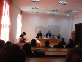 Aspect din timpul suţinerii tezei D-lui Ioan-Augustin Guriţă, 9.09.2013...
