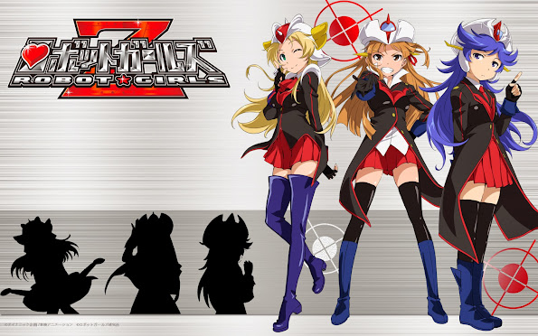 robot girls z anime 2014 hd wallpaper