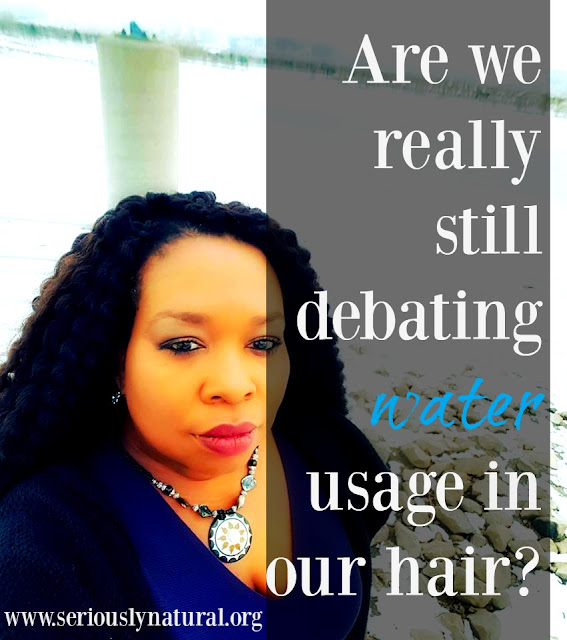 Are we really still debating water usage in our hair?