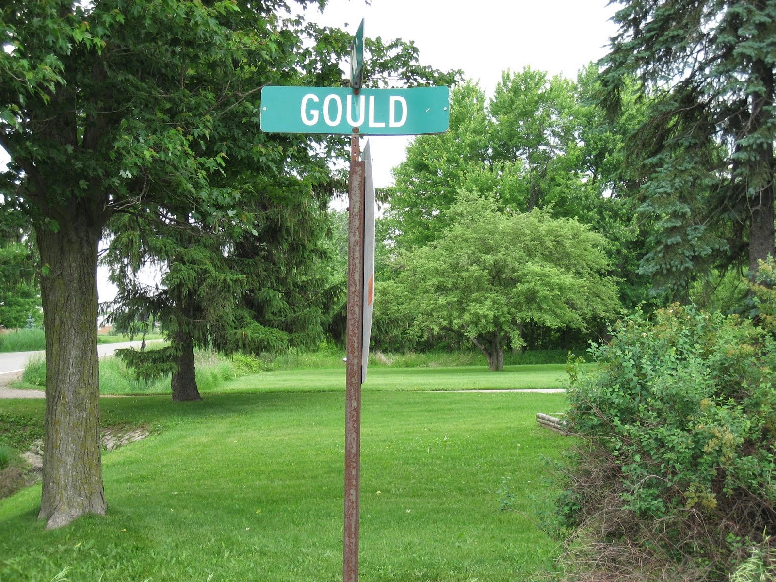 GOULD RD. IN ARMADA, MICHIGAN