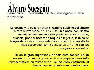 Comentario de ALVARO SUESCUN