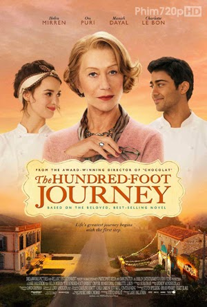 The Hundred Foot Journey 2014 poster