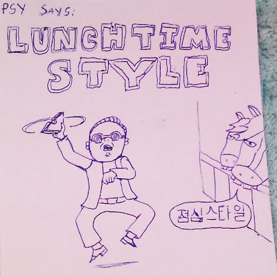 Gangnam Style lunch