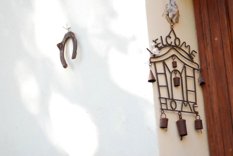 welcome soglia casa ferro di cavallo