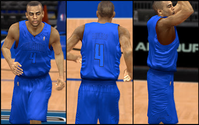 NBA 2K13 Orlando Magic Christmas Jersey Mods