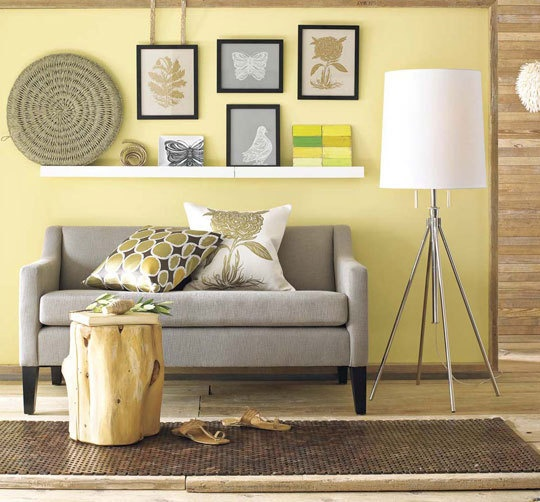 Benjamin Moore Lemon Sorbet Paint Color