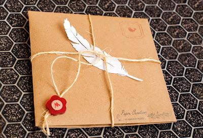 упаковка подарка ручной работы