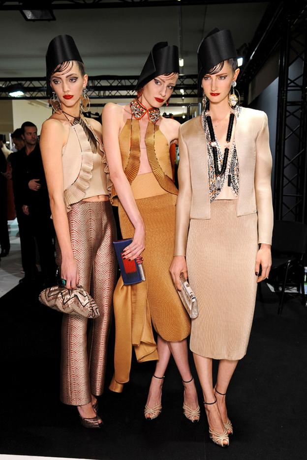 Armani Privé Haute Couture Backstage