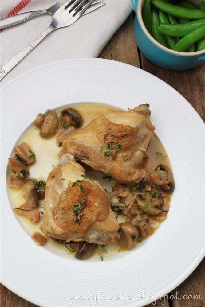 Goodyfoodies Recipe Chicken Fricasse Gordon Ramsay