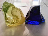 Yellow & Blue Obsidian