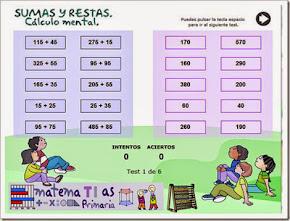 SUSMAS Y RESTAS