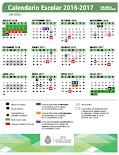 Calendario Escolar con Ajustes
