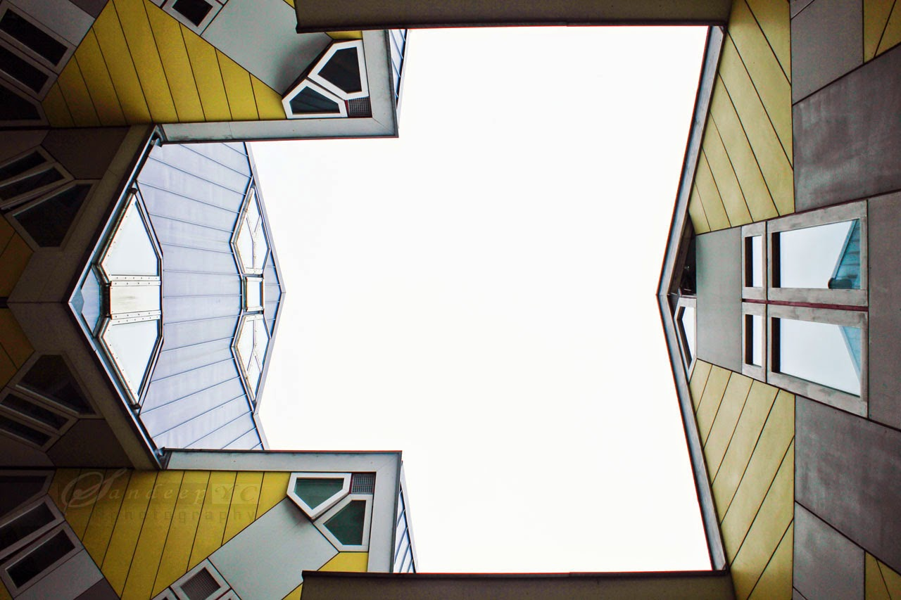 Another Geometrical angular view as seen from below
