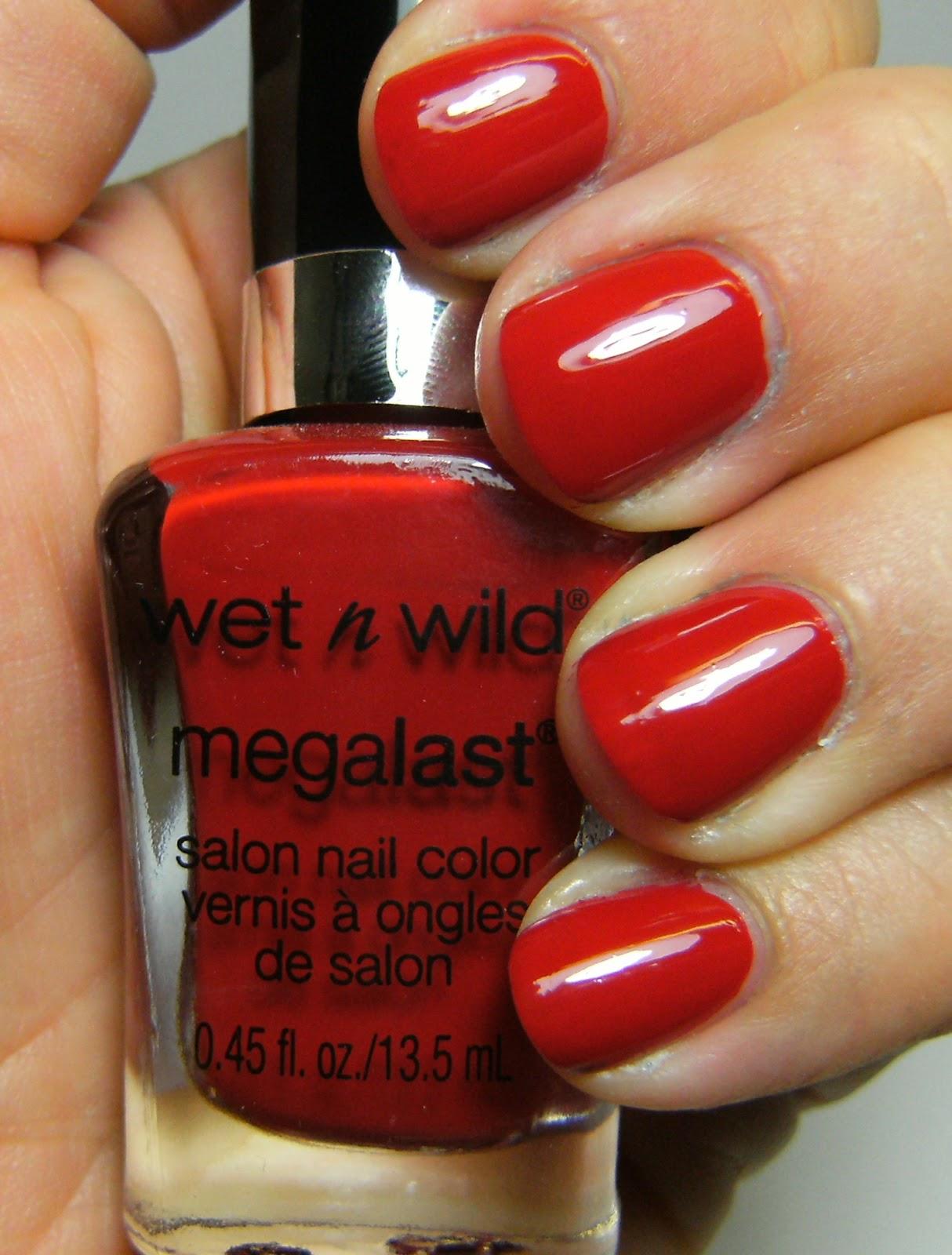 Deez Nailz Wet N Wild Mega Last In Canada Megalast Salon Nail Color Candylicious