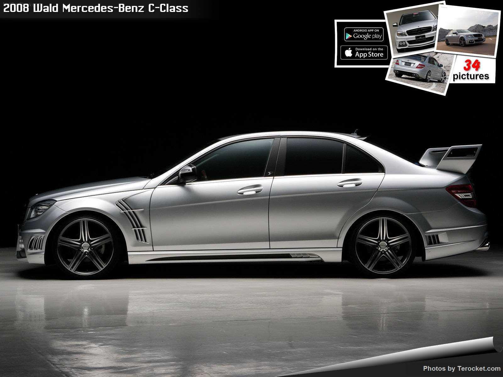 Hình ảnh xe độ Wald Mercedes-Benz C-Class 2008 & nội ngoại thất