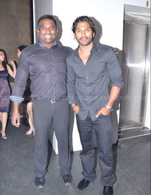 Allu Arjun With Friend