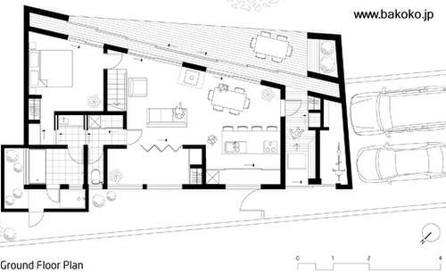 arquitectura de casas casa de playa japonesa