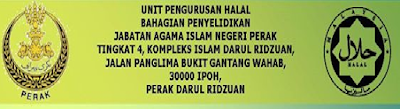 Halal Perak Jakim