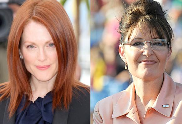 Julianne Moore, Sarah Palin