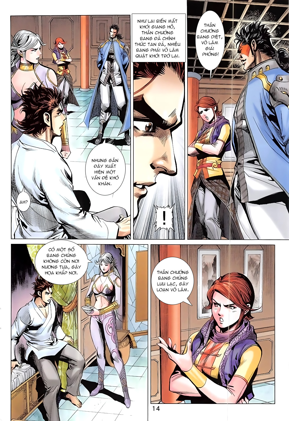 Thần Chưởng chap 24 – End Trang 14 - Mangak.info