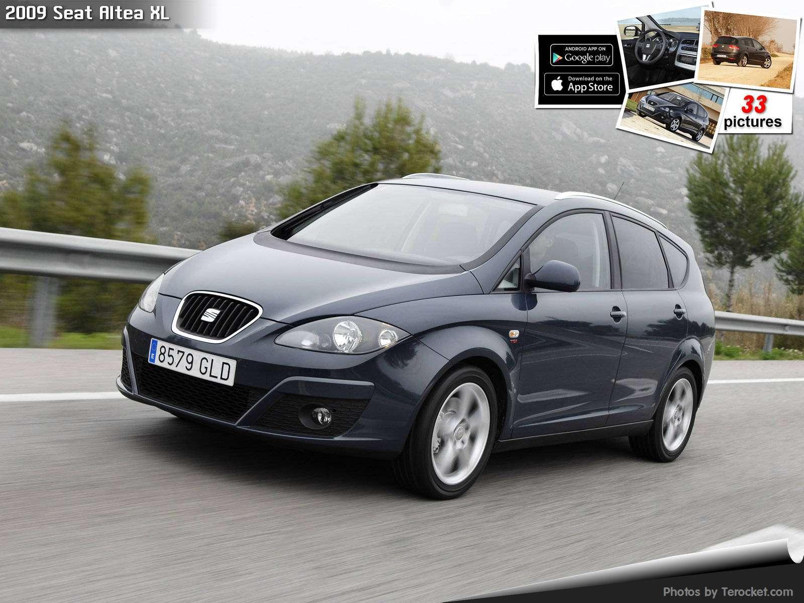 Hình ảnh xe ô tô Seat Altea XL 2009 & nội ngoại thất