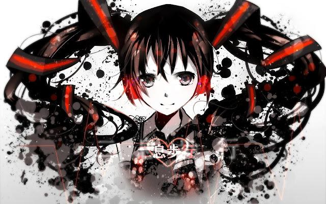 Zatsune Miku Vocaloid Chica Anime