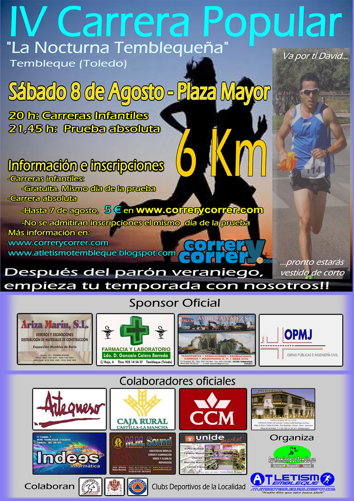 IV Carrera Popular Nocturna Temblequeña