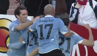 Arévalo Ríos, Uruguay