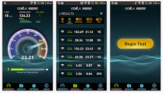 kecepatan internet android