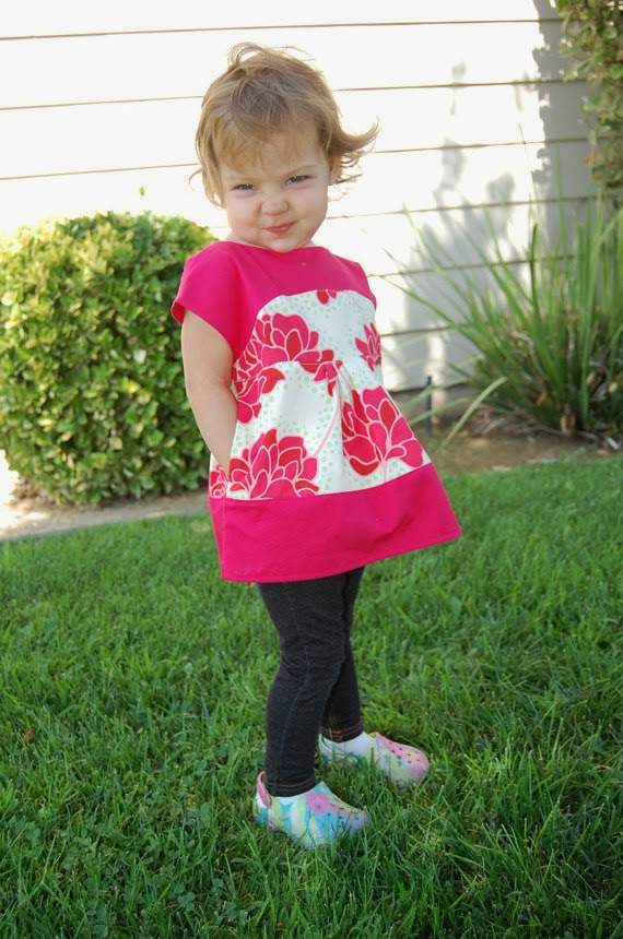 maggie mae sweetheart tunic by JaimeSews