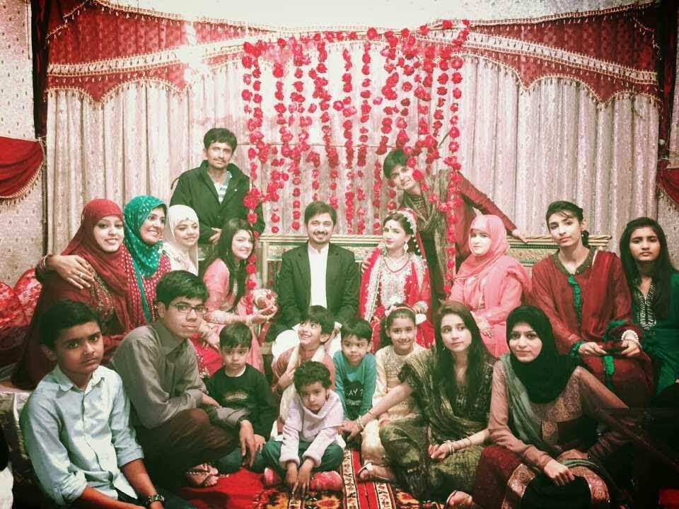 Babar khan 2nd wedding with bisman khan pictures