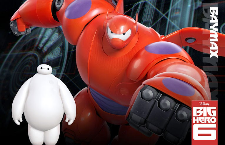 "Baymax in ""Big Hero 6"""